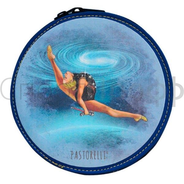7036a806bb96 Футляр для CD PASTORELLI голубой с булавами FREEDOM